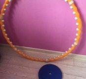 Обруч для похудения в подарок диск