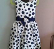 Платье на девочку на 5-7 лет