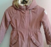 Куртка на межсезонье на девочку рост 128