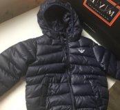 Детская куртка Армани