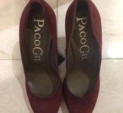 Туфли женские 40 р; замшевые