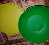Тарелка с крышкой.Tupperware