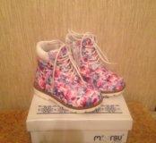Ботинки для девочки Mursu 23р-р