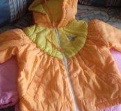 Куртка для девочки новая весна