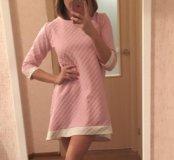 Новое вафельное платье