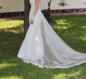 """Свадебное платье фасон""""рыбка"""""""