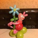 Свинка Пеппа из шариков
