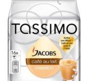 Капсулы Tassimo Milka cafe