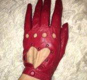 Кожаные перчатки 🇮🇹