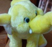 Жёлтый слон новый