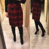 шотландская юбка шерсть
