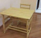 Набор детской мебели стол и стульчик