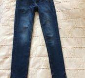 Молодёжные джинсы-скинни