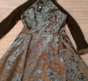 Новое платье бархат! Новинка 2017