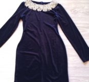 Шикарное новое платье бархат