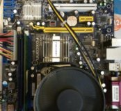 Материнская плата с процессором Intel