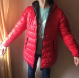 Двухсторонняя куртка весна-осень