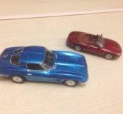 Машинки металические 2 шт коллекционные