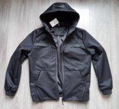 Укороченная куртка с капюшоном Alexander Wang