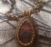 Ожерелье кабашон
