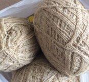 Нитки для вязания( пряжа шерстяная)