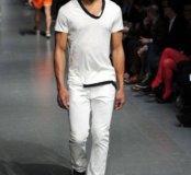 Белые штаны terranova