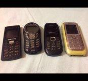 Разные телефоны на запчасти