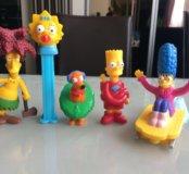Фигурки Симпсоны