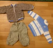 74 см Куртка штаны свитер