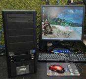 Комп Gigabyte 2 ядра 4gb NVIDIA 9500 GT 320GB