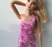 Розовое платье для Barbie