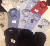 Новые мужские рубашки Camicissima 38 ворот