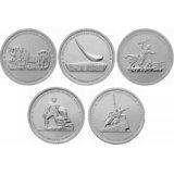 Набор монет 5 рублей Освобождение Крыма