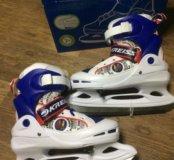 Новые хоккейные коньки