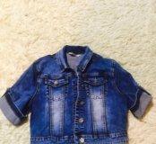 Продаётся джинсовая курточка
