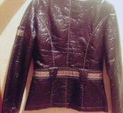 Куртка кожанная для девочки
