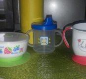 Детская посуда.