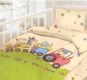 Детское постельное белье сатин