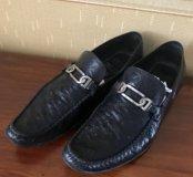 Ботинки чёрные Chester 43р.