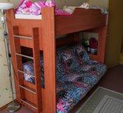 Двухъярусная кровать-диван