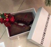 Тёплые кожаные ботинки Bikkembergs (размер 20)