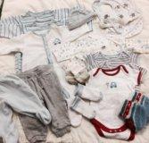 Пакеты детской одежды 0-6м