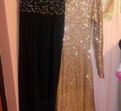 Вчерные платье