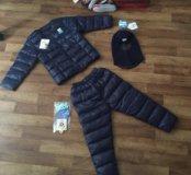 Новый костюм комбинезон детский весенний куртка