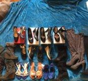 Много обуви 39,38 от