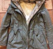 Парка куртка Pull&Bear