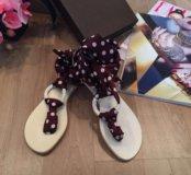 Новые стильные сандалии Vicini Tapeet (оригинал)