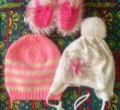 Платье, шапка, майки