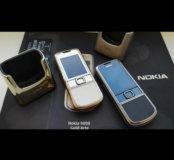 Nokia 8800 Carbon Arte Gold Arte