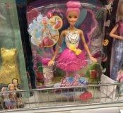 Новая Барби с крыльями и мыльными пузырями
